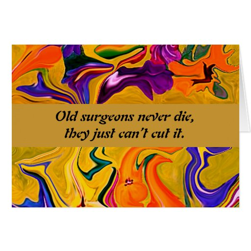 surgeons humor greeting cards