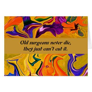 surgeons humor greeting card