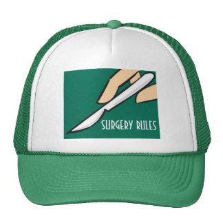 Surgery Rules Jockey Cap