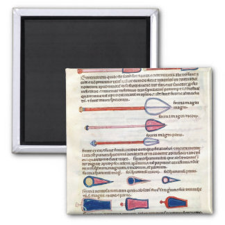 Surgical instruments from a treatise magnets