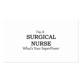 SURGICAL NURSE PACK OF STANDARD BUSINESS CARDS