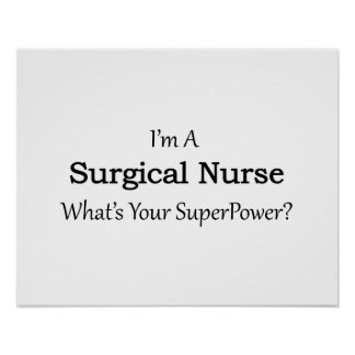 Surgical Nurse Poster