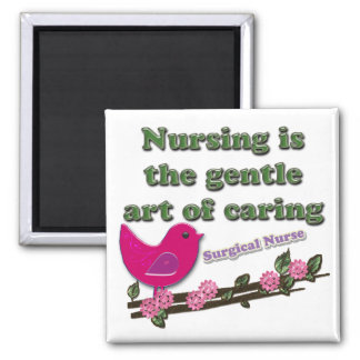 Surgical Nurse Square Magnet