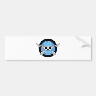 Surgical Skull Bumper Sticker