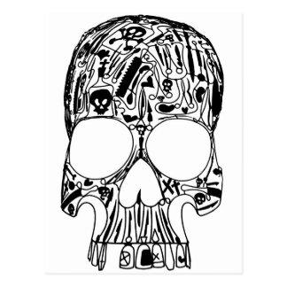 Surgical Skull Postcard