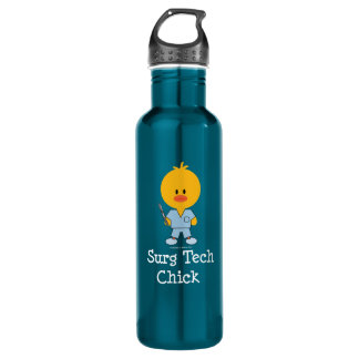 Surgical Tech Chick 710 Ml Water Bottle