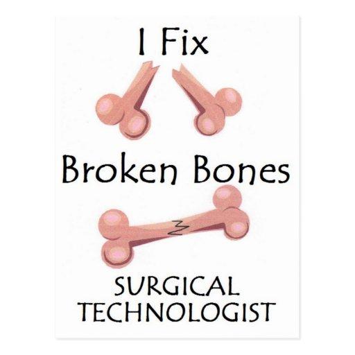 Surgical Technologist - I Fix Broken Bones Postcards