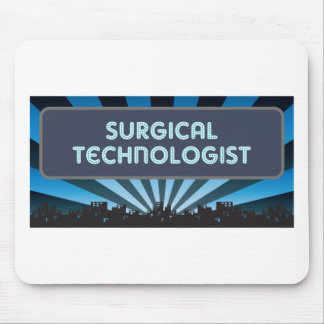 Surgical Technologist Marquee Mouse Pads
