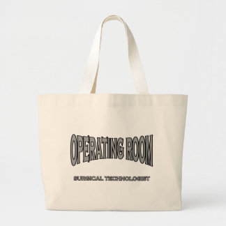 Surgical Technologist - Operating Room black Tote Bags