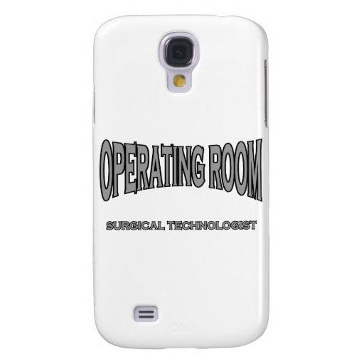 Surgical Technologist - Operating Room (black) Galaxy S4 Case