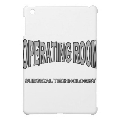 Surgical Technologist - Operating Room (black) Case For The iPad Mini