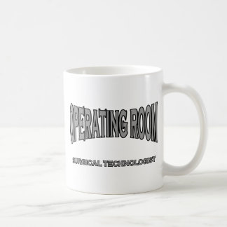 Surgical Technologist - Operating Room (black) Coffee Mugs