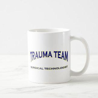 Surgical Technologist - Trauma Team (navy) Basic White Mug