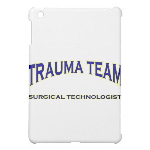 Surgical Technologist - Trauma Team (navy) iPad Mini Case
