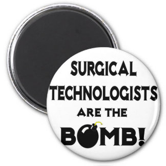 Surgical Technologists Are The Bomb! 6 Cm Round Magnet