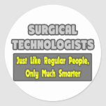Surgical Technologists ... Smarter Sticker