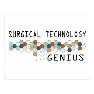 Surgical Technology Genius Postcard