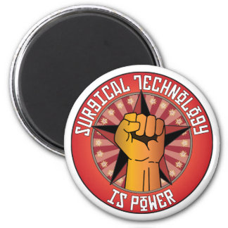Surgical Technology Is Power 6 Cm Round Magnet