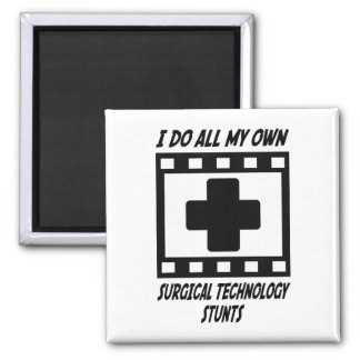 Surgical Technology Stunts Square Magnet