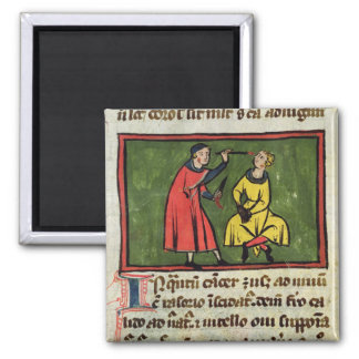 Surgical treatment, from an edition square magnet