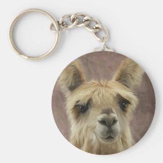 Suri Alpaca Key Chain