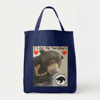 SURIA SUN BEAR - I LOVE SUN BEARS TOTE BAG