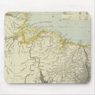 Surinam and Brazil Mouse Pad