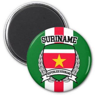 Suriname 6 Cm Round Magnet
