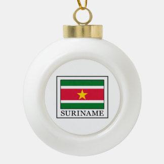 Suriname Ceramic Ball Decoration