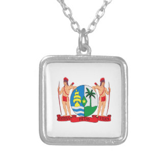Suriname Coat of Arms Pendant