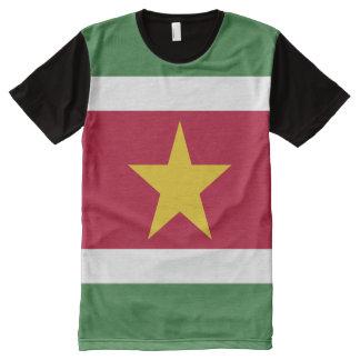 Suriname Flag All-Over Print T-Shirt