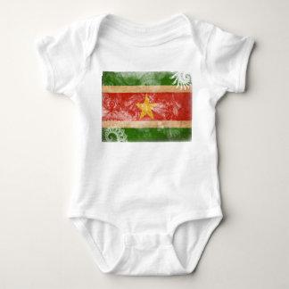 Suriname Flag Baby Bodysuit