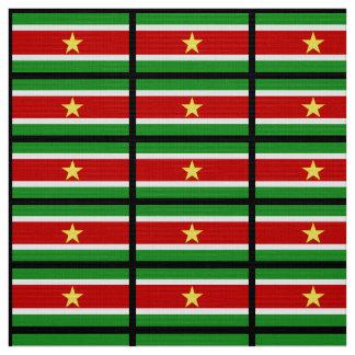 Suriname Flag Fabric