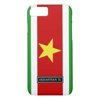 Suriname Flag iPhone 7 Case