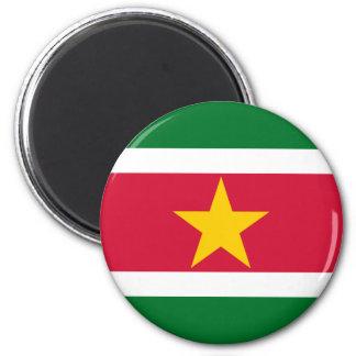 Suriname Flag Magnet