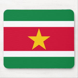 Suriname Flag Mouse Mat