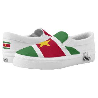 Suriname Flag Printed Shoes