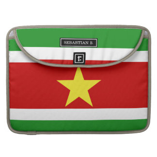Suriname Flag Sleeve For MacBook Pro