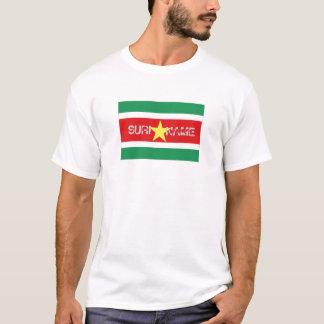 Suriname flag souvenir t-shirt