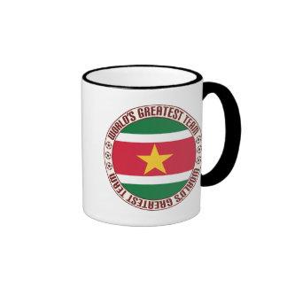 Suriname Greatest Team Ringer Mug