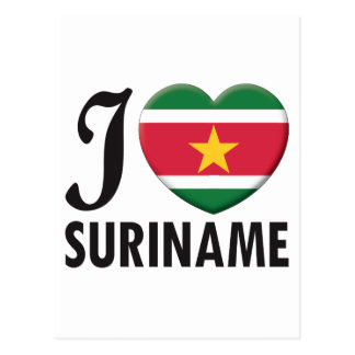 Suriname Love Postcard