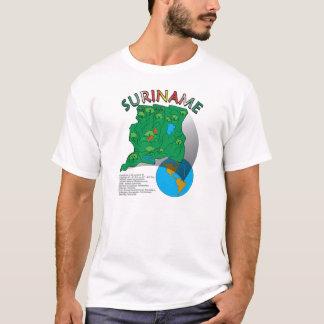 Suriname Map T-Shirt