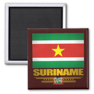 """""""Suriname Pride"""" Square Magnet"""