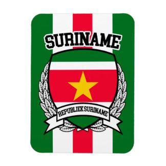 Suriname Rectangular Photo Magnet