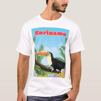 Suriname South american paradise travel poster T-Shirt
