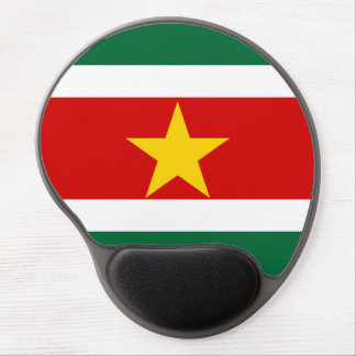 suriname surinam country flag nation symbol gel mouse mat
