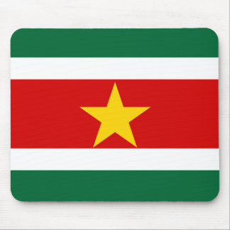 suriname surinam country flag nation symbol mouse pad