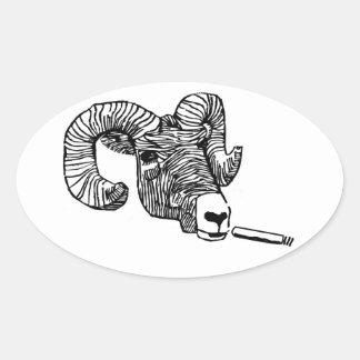 Surly Bighorn Oval Sticker