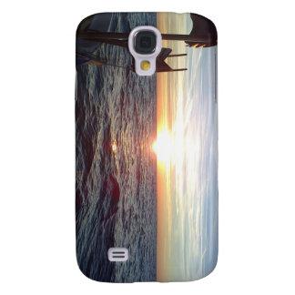 Surpass Photos Sun and Sea,Boat Galaxy S4 Case