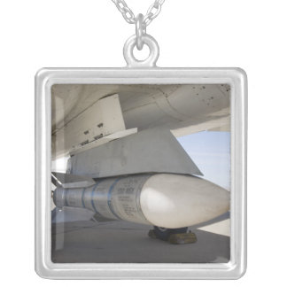 Surplus Navy Phoenix missiles Silver Plated Necklace
